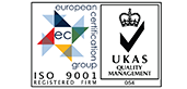 Fineline Carpentry & Building are Iso 9001 accredited
